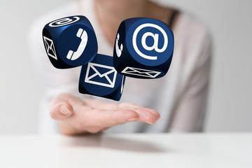 contact Besprechung -Kompetenz Beratung-, Service- und Marketingbereich