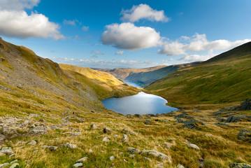 Small water tarn Haweswater Cumbria