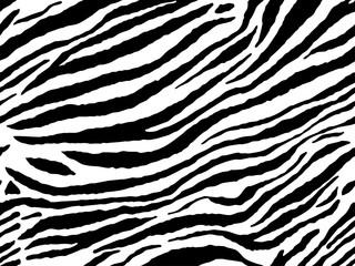 Zebra stripes tiling pattern background