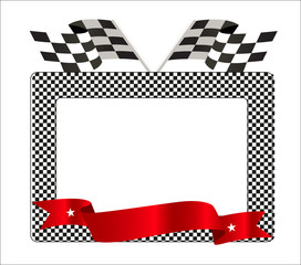 Photo frame with vector format.