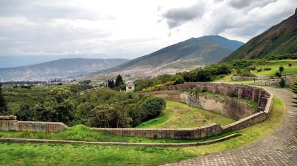 Views from Ecuador near Quitto