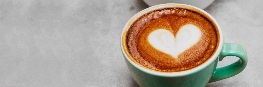 Love coffee latte art