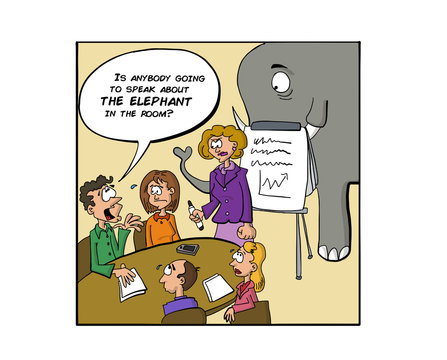 Speaking about the elephant in the room