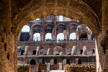 Roman Colosseum, Rome, Italy Fototapete