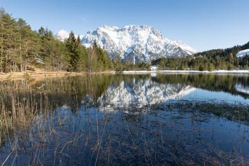 Luttensee, Nähe Krün-Mittenwald
