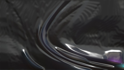 Black Plastic Background