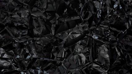 Black Crystal Background