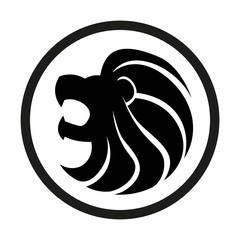 Sign Of The Zodiac Leo Isolated