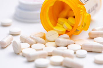 Pills and capsules Wall mural