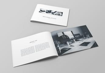 Landscape Booklet Mockup