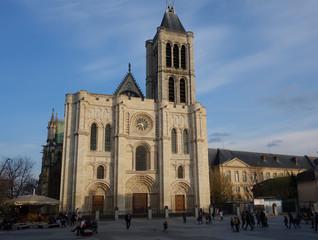 Fototapeta Saint-Denis, nércopole des rois de France obraz
