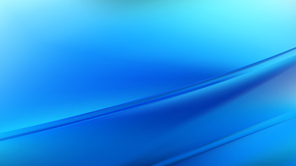 Wall Mural - Bright Blue Diagonal Shiny Lines Background