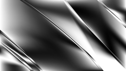 Wall Mural - Cool Grey Diagonal Shiny Lines Background