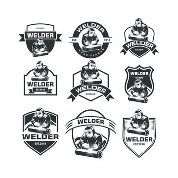 Set of Welder Logo