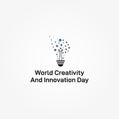 Creativity And Innovation Day Vector Design