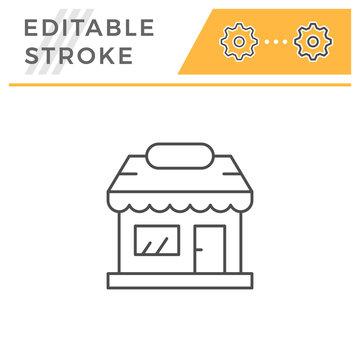 Shop line icon