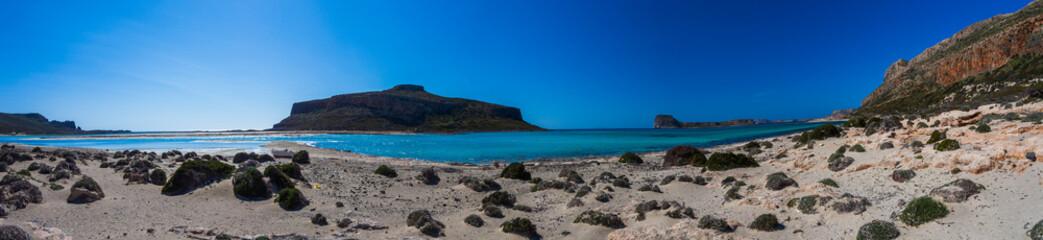 Playa de Balos en Creta. Prefectura de La Canea Wall mural