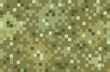 Pixel camouflage pattern
