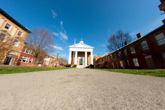 Civil War era courthouse in Virginia Winchester