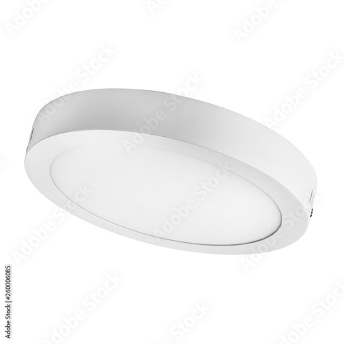 isolated modern LED indoor spotlight