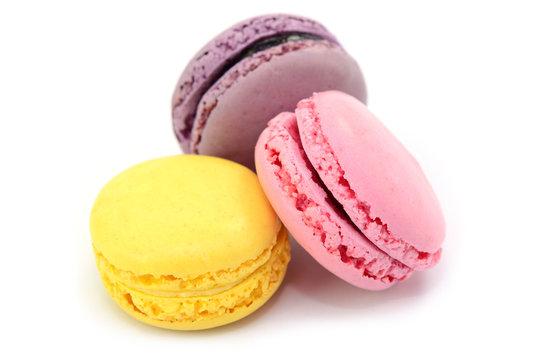 Drei Macarons