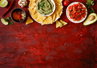 Wall Mural - Mexican traditional food