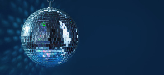 Abstract Disco Ball Background