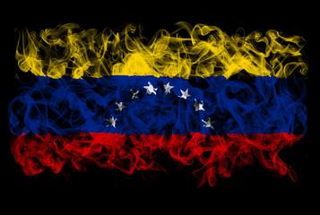 Smoking flag of Venezuela