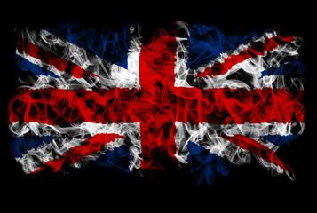 Smoking flag of Great Britain