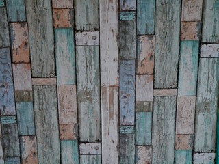 Holzplanken