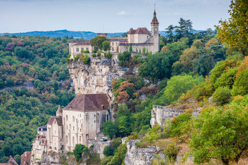 Wall Mural - Rocamadour, France