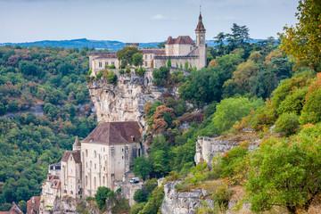 Fototapete - Rocamadour, France
