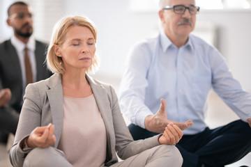 Obraz Meditation and rest - fototapety do salonu