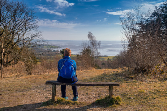 A circular walk around Arnside Knott in Lancashire. Arnside Knott is a haven for birds and wildlife with a mixture of Southern and Northern species on the edge of their ranges.