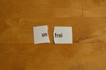 frei oder unfrei