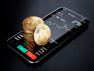 Cryptocurrency exchange mobile trading Bitcoin