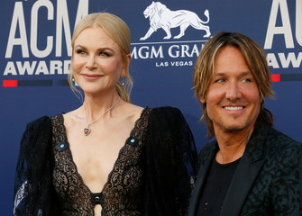 54th Academy of Country Music Awards – Arrivals – Las Vegas, Nevada, U.S., April 7, 2019 – Nicole Kidman and Keith Urban