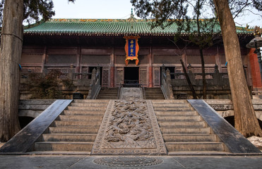 Shaolin temple is a one of the Buddha temple, Luoyang Henan/China.