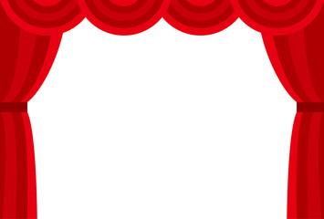 舞台のカーテン(緞帳)