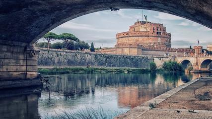 Fototapete - Castel Sant'Angelo in Rome