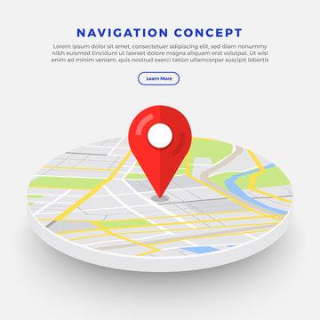 Location Navigator Concept