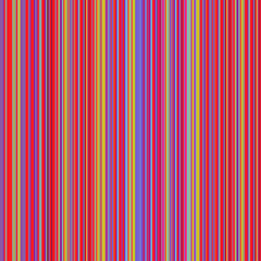Retro style pastel colored vertical striped lines background. Ideal for fabric, textile, linen, drapery, cloth or other textured and patterned works.
