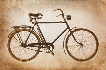 Keuken foto achterwand Fiets Retro styled image of a vintage bicycle