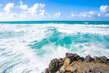 Atlantic coast on Fuerteventura, Canary Islands, Spain