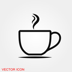 Tea icon vector sign symbol for design