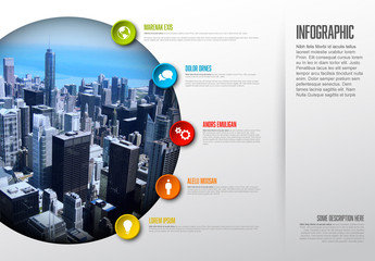 City Skyline Inofgraphic