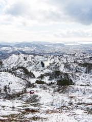 Byfjellene, Bergen