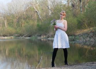 Die Braut am See