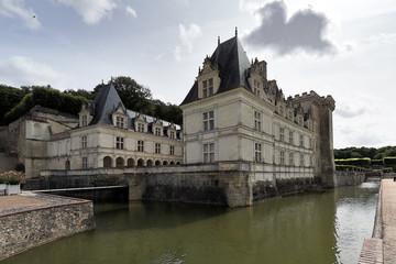 Villandry Castle from river
