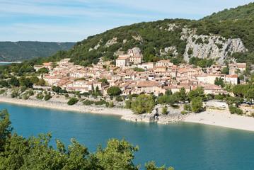 French village of Bauduen, Lac de sainte croix, france